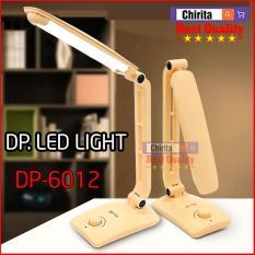 Đèn Led Trợ Sáng Cao Cấp DP. LED LIGHT – Đèn Học LED RECHARGEABLE DESK LAMP DP-6012 ( Giao Hàng Màu Ngẫu Nhiên )