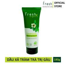 Dầu Xả Tràm Trà Trị Gàu Fresh Organic Tea Tree Oil 180g