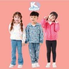 Áo Hoodie / Gió Cho Bé Trai Và Bé Gái (1-9 Tuổi) K's Closet E015TEF / E023TEF TM