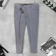 💙 quần dài nam 💙 quần dài nam thon gon vải lụa trơn cao cấp chống xù chống nhăn – size từ 40-75 kg