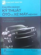 Sách ô tô kĩ thuật ô tô hiện đại ( bản photo)