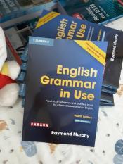 English Grammar in use – In đen trắng – Bìa màu như hình