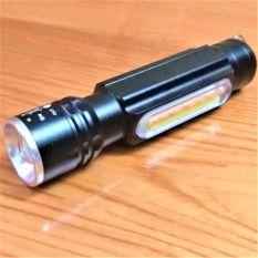 Đèn pin siêu sáng, 4 trong 1, đèn cob , đèn pha , có móc , có nam châm hút,có sạc cổng usb có cổ dê nhựa có video tham khảo.