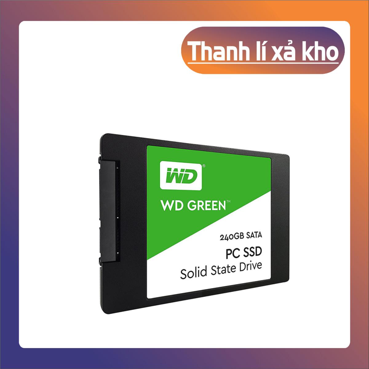 [Phá Sản] SSD Western Digital Green Sata III 240GB WDS240G2G0A – [Hàng Chính Hãng]