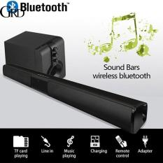 GRAND 5W*2 Soundbar FM Home Theater AUX Smart Phone Portable 330mm Universal Voice Call Wireless Bluetooth Speaker
