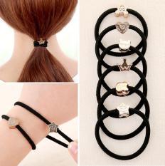 Combo 20 dây thun cột tóc style Hàn Quốc