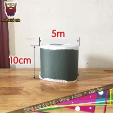 10cm x 5m – Băng keo dán bạt HDPE chống thấm nước, dán mái – 10cm x 5m (Màu XANH LỤC)