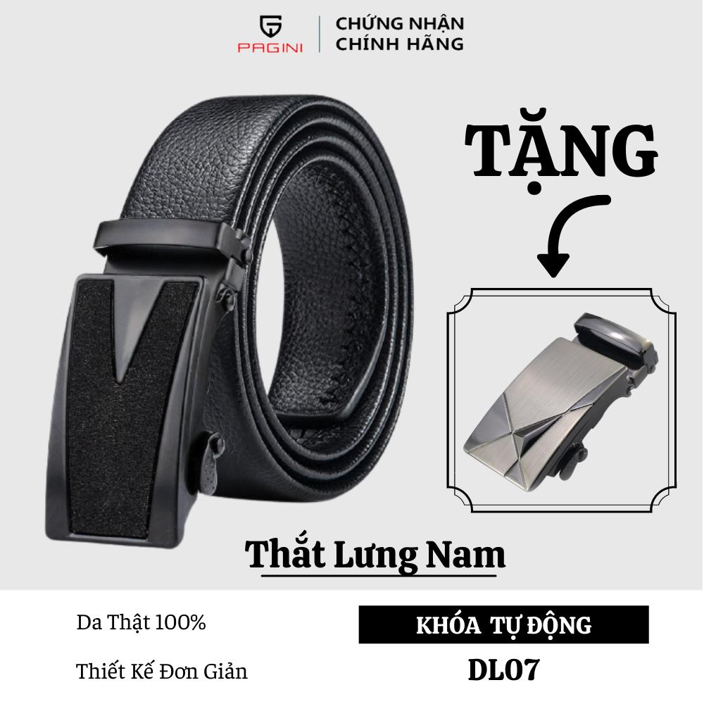 Thắt Lưng Nam – Thương Hiệu PAGINI – Thiết Kế Đơn Giản Thời Trang – DL07