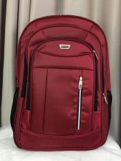 57x40cm Balo SIÊU LỚN Laptop Du Lịch Đi Làm Đi Công Tác Lilan Sọc Chỉ Đỏ – L14