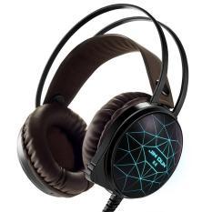 Tai nghe chụp tai gaming JINDUN K5 RGB LED 3.5+USB+UV