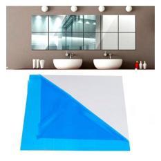 Decal dán tường – Gương dẻo dán tường trang trí kích thước 30x30cm, gương dán tường siêu mỏng mà soi siêu đẹp