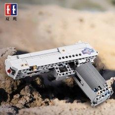 Bộ Đồ Chơi Lắp Ráp Kiểu Lego Mô Hình PUBG Lục Trắng 307 Mảnh Ghép