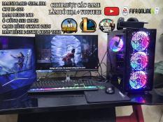 Bộ máy tính chơi Game, Cpu i5-4570, Màn hình cong 24inch 75hz