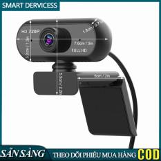 Webcam USB Góc Rộng Full HD 720P USB2.0 Không Có Ổ Đĩa Kèm Mic Web Cam Máy Tính Xách Tay Hội Nghị Trực Tuyến Teching Video Trực Tiếp Gọi Điện Thoại Camera Web Chống Nhìn Trộm Webcame