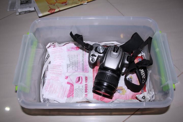 Gói Hút Ẩm 100g - 1kg chống ẩm cho máy ảnh