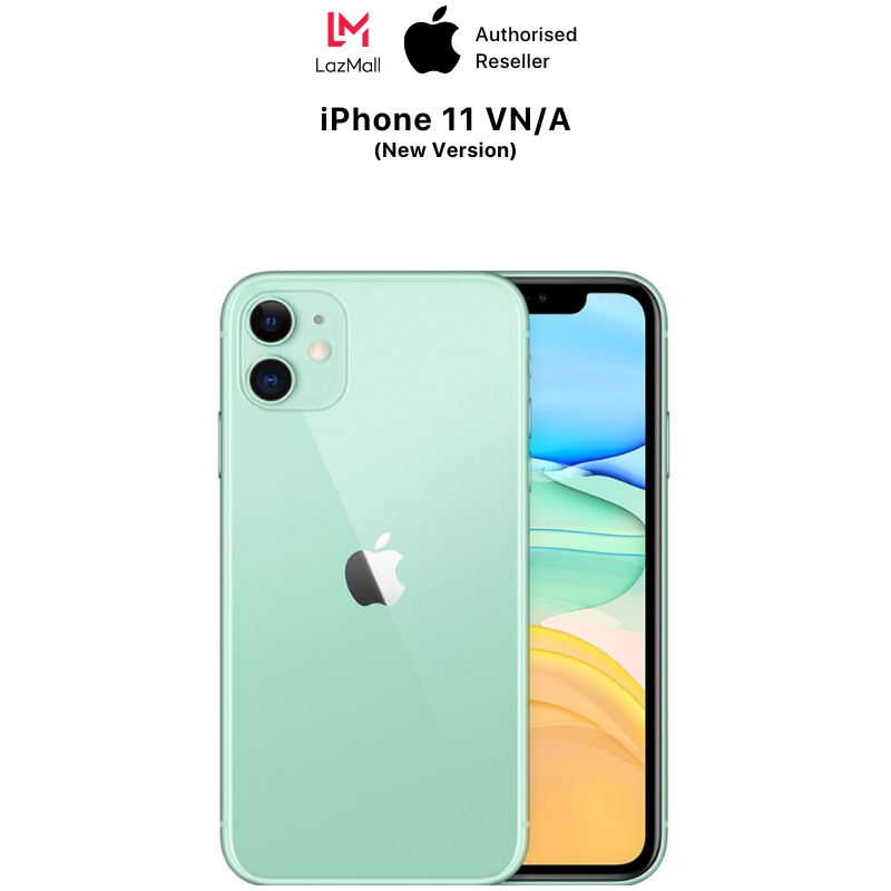 iPhone 11 VN/A – Hàng Chính Hãng – Phiên bản mới (Không có củ sạc & tai nghe)