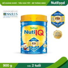 Sữa Bột Nuti IQ Gold STEP 4 900g_Đề kháng khỏe – tiêu hóa tốt – bé thông minh- [TRỢ PHÍ VẬN CHUYỂN]