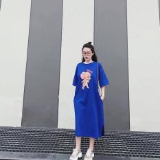 [Yến Trần] Đầm Suông Chú Chuột form Rộng, Full Màu, Không Túi Dáng Dài 108cm