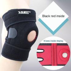 Đai quấn bảo vệ đầu gối thể thao thoáng khí tránh xô lệch trệch khớp Four spring sport knee support AOLIKES A-7912