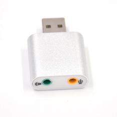 Đầu USB SOUND 7.1 vỏ nhôm âm thanh 3D