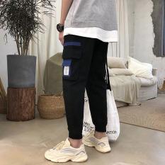 Quần jogger nam túi hộp bo chân