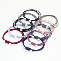10 Dây cột tóc ngọc trai kiểu Hàn Quốc cho mái tóc đẹp mỗi ngày dây buộc tóc thun buộc tóc IW-DCT01
