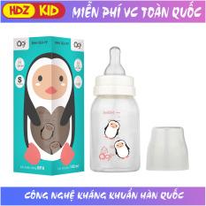 Bình sữa cổ hẹp Agi 60ml/140ml/250ml công nghệ Hàn Quốc kháng khuẩn an toàn cho bé sử dụng núm vú silicon mềm mại chống sặc cho trẻ sơ sinh và trẻ nhỏ – HDZ-KID