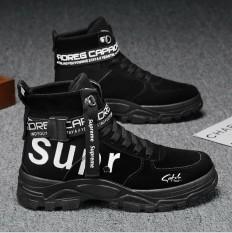 Giày Boot Nam Cao Cổ Chất Da Tăng 6CM Chiều Cao, Bốt Nam Đẹp Siêu Chất, Siêu Bề Đẹp SP – 369