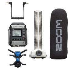 Máy ghi âm Zoom F1-SP Field Recorder + Shotgun Mic