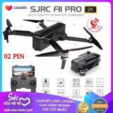 [BỘ 02 PIN +BaLo ] Flycam SJRC F11 PRO Camera siêu khủng 2K -bản nâng cấp của SJRC F11 – Bay 25 Phút – 2 GPS – Khoảng cách điều khiển 1.2KM – Động cơ không chổi than
