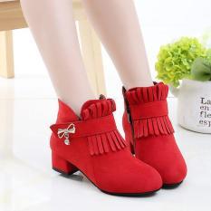 Giày Boot ( cao cấp ) cho bé gái phong cách hàn quốc EB001