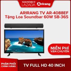 ARIRANG TV FULL HD 40 INCH AR-4088EF TẶNG LOA SOUNDBAR 60W SB-36S