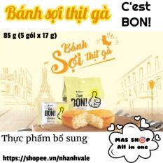 Bánh ăn sáng Cest BON ORION® túi 85g – Sợi thịt gà