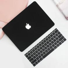 """Combo Case Ốp Macbook Air 11.6"""" Kèm Phủ Màu Đen (Model A1370)"""