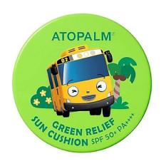Cushion chống nắng dành cho bé ATOPALM Green Relief Sun Cushion (Chính hãng Hàn Quốc)