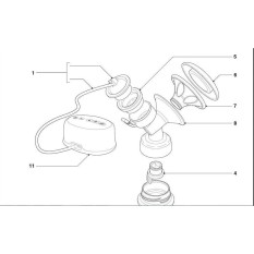 [Mã MKBCSALE2 giảm 8 đơn 250K] Phụ kiện máy hút sữa Philips Avent comfort SCF332; SCF 334 chính hãng