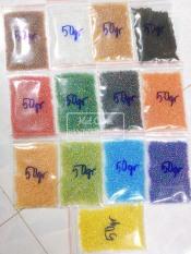 2000 Hạt tấm ngũ sắc(tấm cừ) nhiều màu trang trí khoảng 50gr