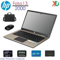Laptop HP Folio 13-2000 Core i5-2467M, 4gb ram, 128gb SSD màn hình 13.3inch vỏ nhôm siêu mỏng