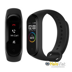 [Chính Hãng] Vòng đeo tay thông minh Xiaomi Mi Band 4 hỗ trợ tiếng Việt – Hàng Nhập Khẩu