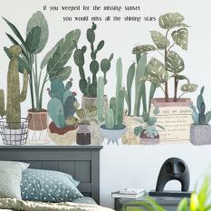 [Lấy mã giảm thêm 30%]Decal Dán tường Bộ sưu tập các mẫu hoa lá trang trí phòng khách phòng ngủ. Nhựa PVC độ bền cao không thấm nước. 100% thương hiệu mới chất lượng cao