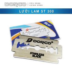 Hộp 100 lưỡi lam DORCO ST 300 ( nhãn xanh )