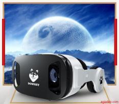 Kính thực tế ảo VR cao cấp Downey – Sói bạc X9 hình ảnh sống động (Nổi tiếng Toàn cầu) + Có Tay Điều Khiển chơi games xem phim 3D