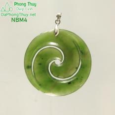 Mặt đá ngọc bích hòa hợp NBM4- Diệp Linh.