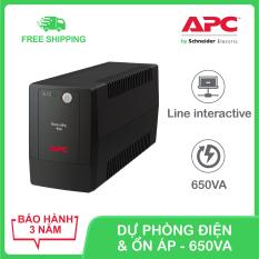 Bộ lưu điện APC by Schneider Electric Back-UPS 650VA 230V & ổn áp BX650LI-MS