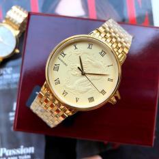 [KHUYẾN MẠI KHỦNG] Tặng vòng 150.000đ khi mua Đồng hồ nam mặt rồng vàng trắng cao cấp Baishuns 3951