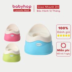 Bô vệ sinh trẻ em Dory babyhop bô cho bé từ 6 tháng đến 5 tuổi thiết kế gọn gàng 3 màu sắc lựa chọn, đế chống trượt