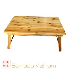 Bàn gấp gọn đa năng tre tự nhiên – Bàn gấp gỗ tre cao cấp xuất khẩu [BGD01]