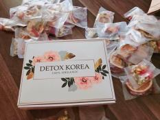 [SET VIP] DETOX Trà hoa quả sấy khô KOREA-30 gói VIP – TẶNG KÈM Bình nhựa PONGDANG 1000ml -PSHOPVN MB