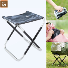 Xiaomi Youpin Outdoor Folding Stool Portable Aluminum Alloy Leisure Small Bench Sketch Chair Sishing Stool with Storage Bag