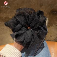 Cột Tóc Bèo Scrunchies To Vải Voan Siêu Hot